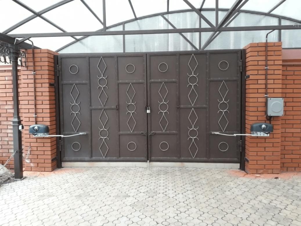 Распашные ворота автоматические